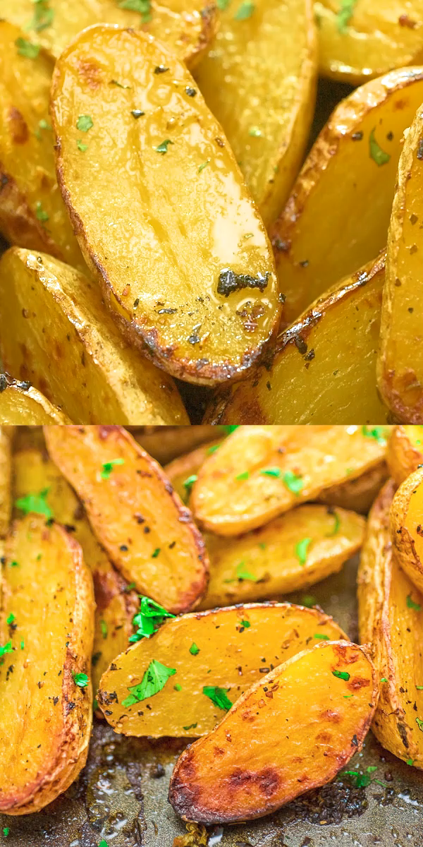 Roasted Fingerling Potatoes #dinnersidedishes
