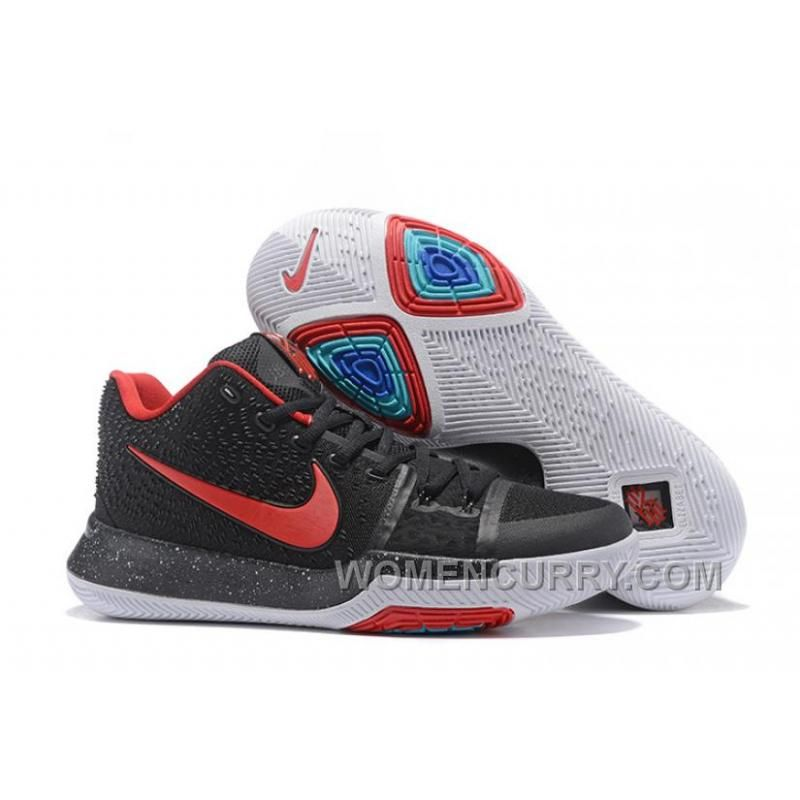 5d0a0be48afd Nike Kyrie 3 Mens BasketBall Shoes Navy Red Lastest QiG8FP ...