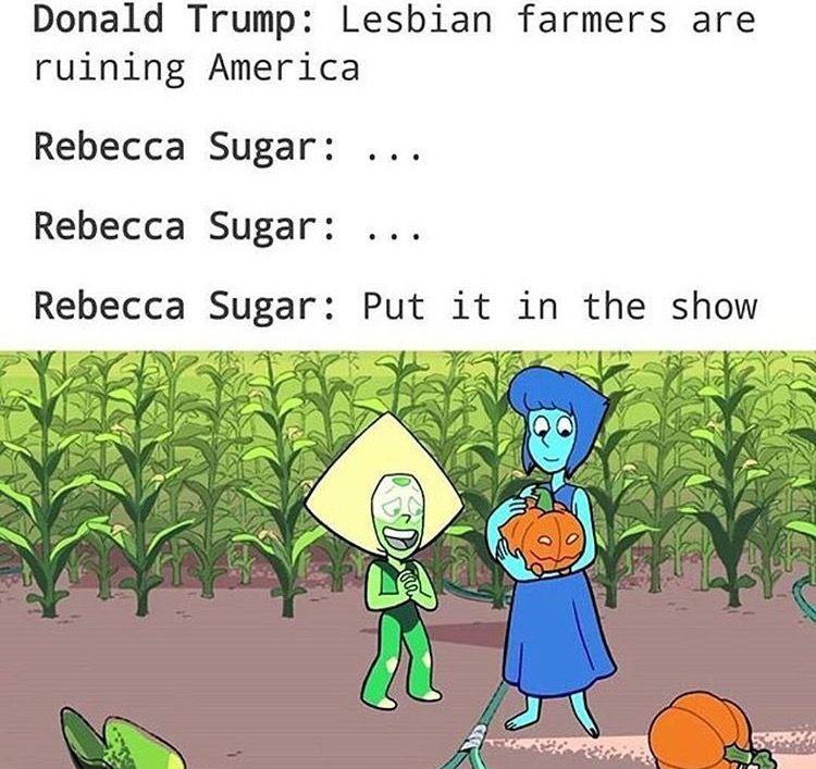 Lesbian cartoons rebecca