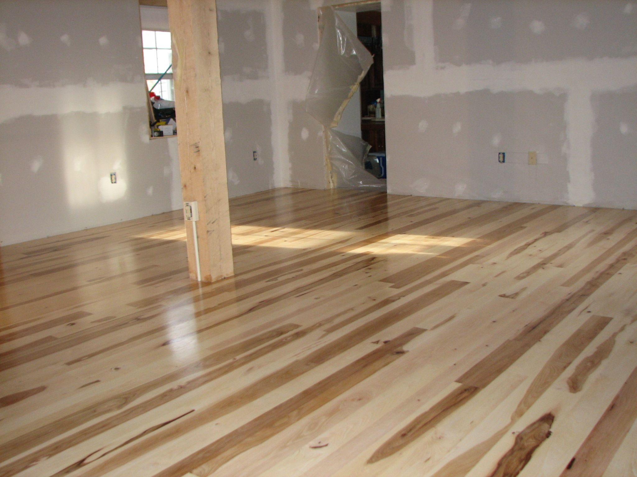 mixed width hickory hardwood flooring - Google Search