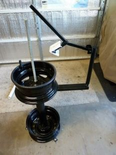 Tire Changing Stand Homemade Tire Changing Stand