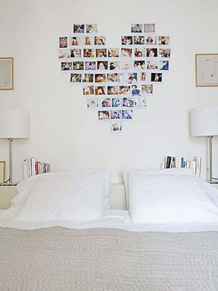 Comment Faire Un Coeur Avec Des Photos Idees Decoration Idees