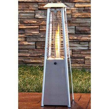 Stainless Steel 7000 Btu Propane Patio Heater With