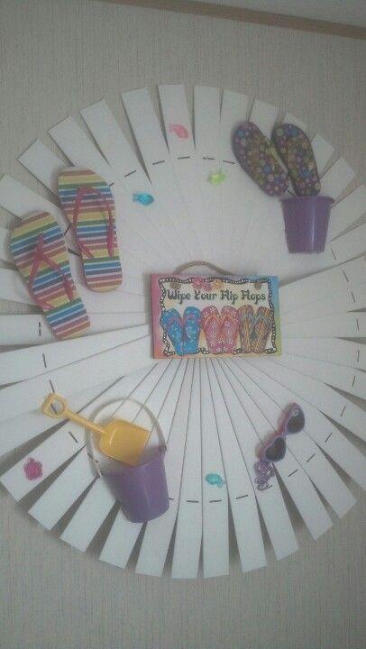 Girls bedroom, at beach