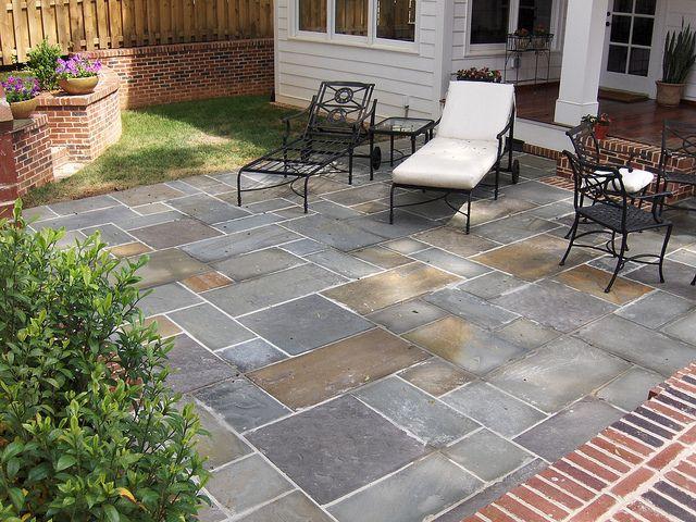Pa Bluestone Precut Patio Patio Stones Small Backyard