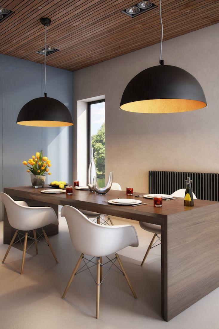 Lampe Salon Salle À Manger suspendu gaetano | salle à manger contemporaine, lampe salle