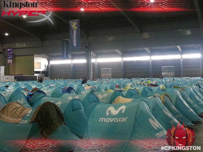 Así se vive Campus Party! #CPMX4 #CPKingston