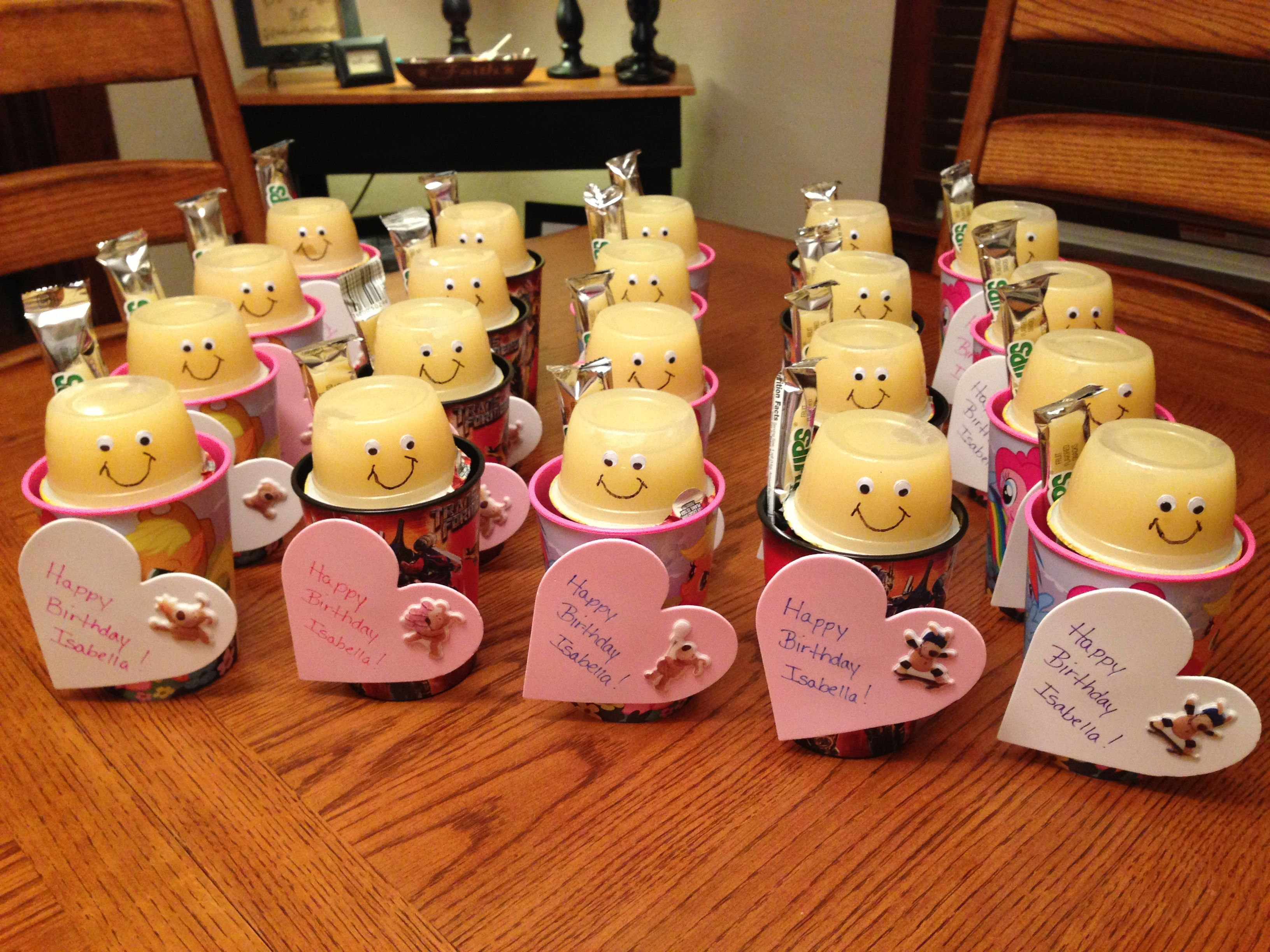 Classroom Birthday Ideas : Classroom birthday treats that i made for isabella s class