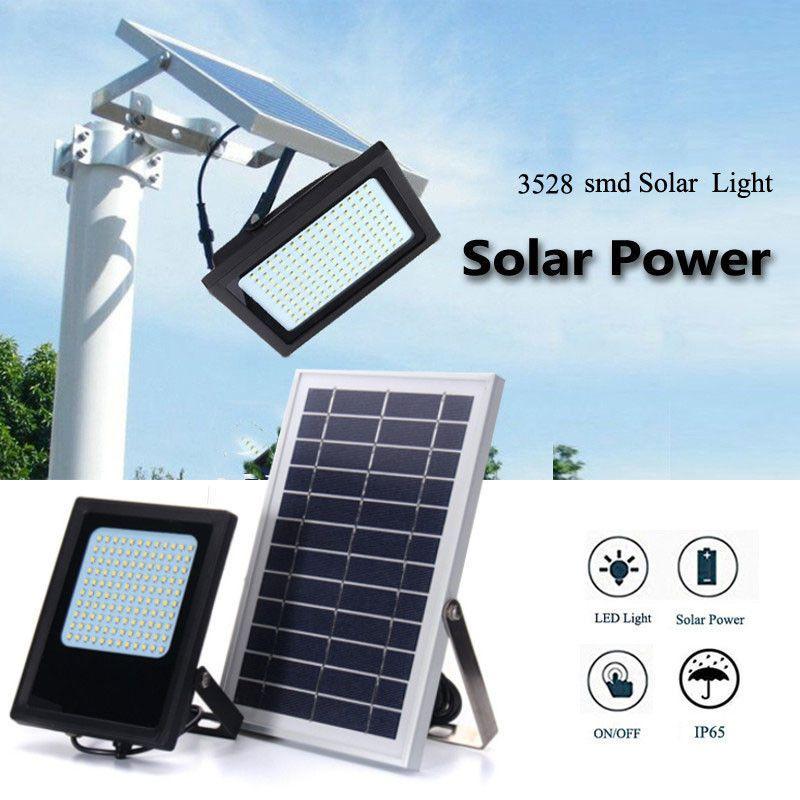 3528 LED Solar Powered Motion Sensor 120 LED Security