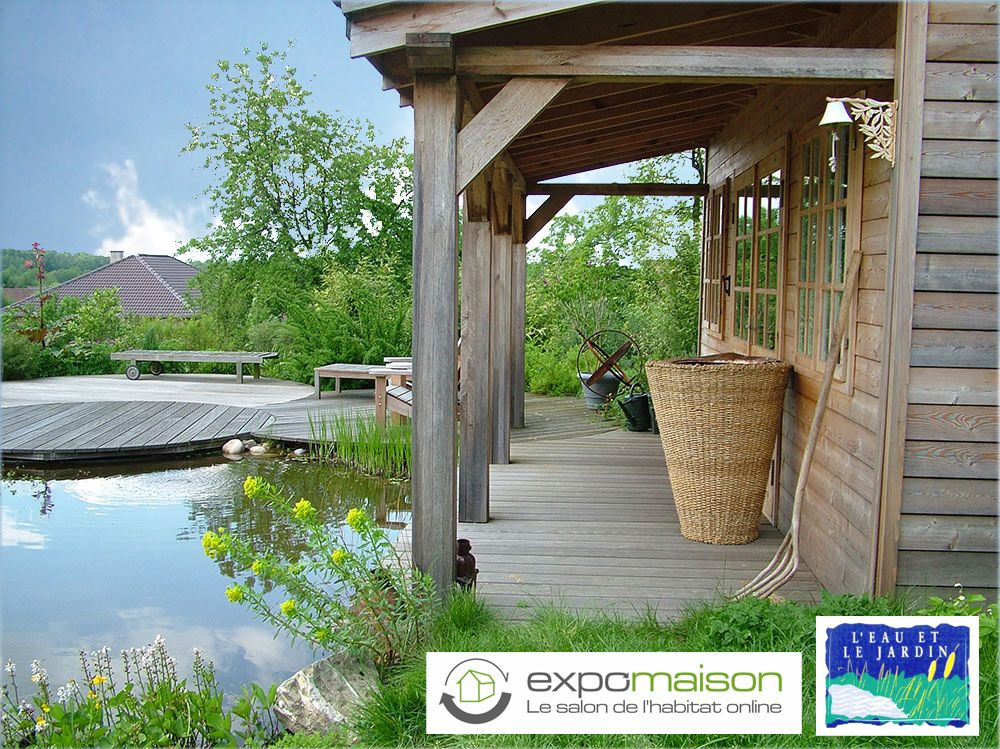étang - piscine naturelle - eaun et jardin - création jardin