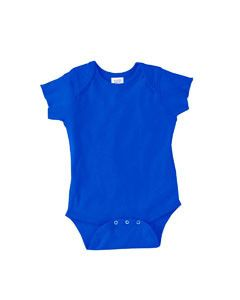 Rabbit Skins Infant 5 oz. Baby Rib Lap Shoulder Bodysuit 4400 ROYAL