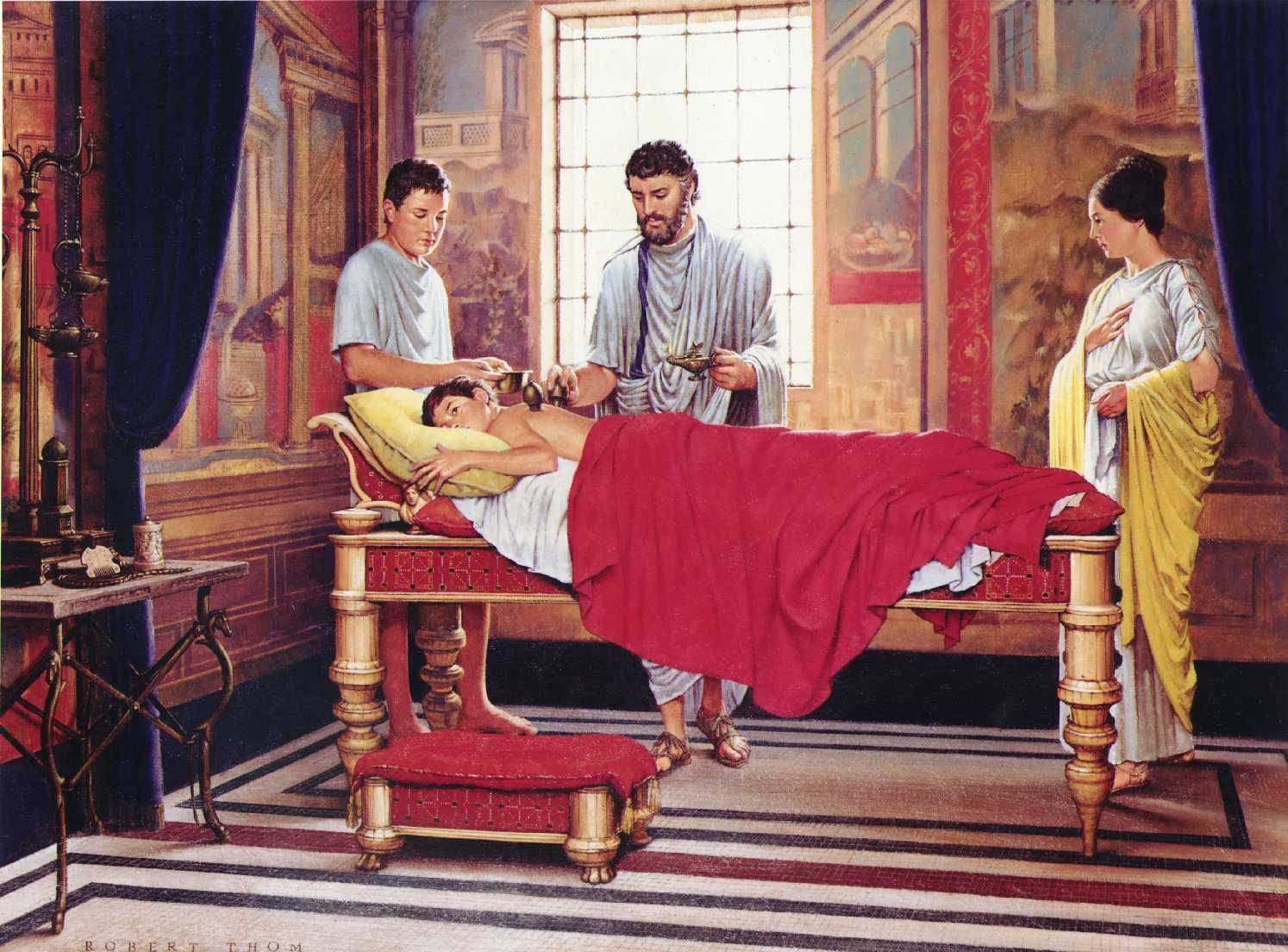 Famous Paintings Examining Corpse