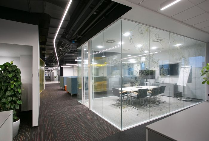 Office Tour Abb Offices Moscow Corporate Office Design