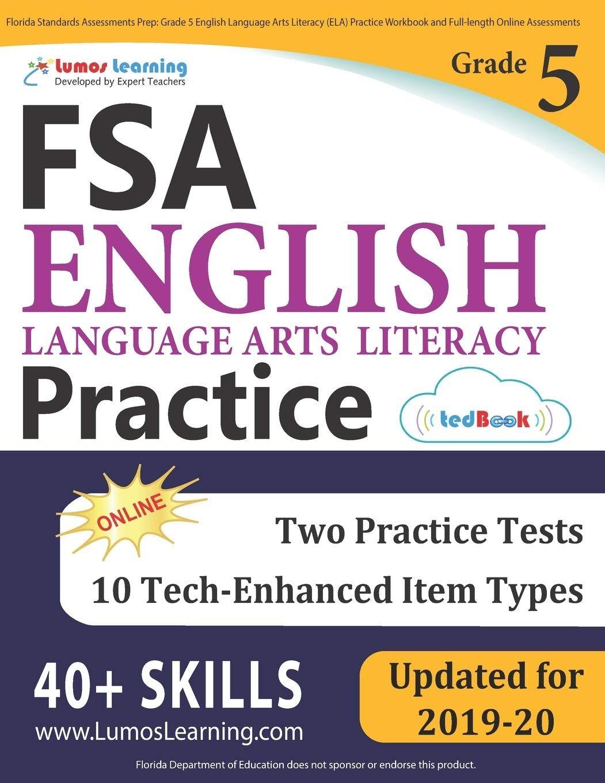 Florida Standards Assessments Prep Grade 5 English