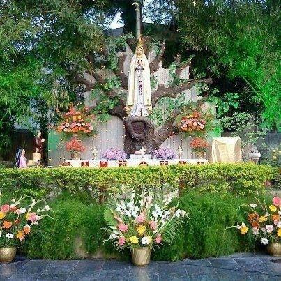 Beautiful shrine catholic pinterest gardens garden for Grotto design ideas