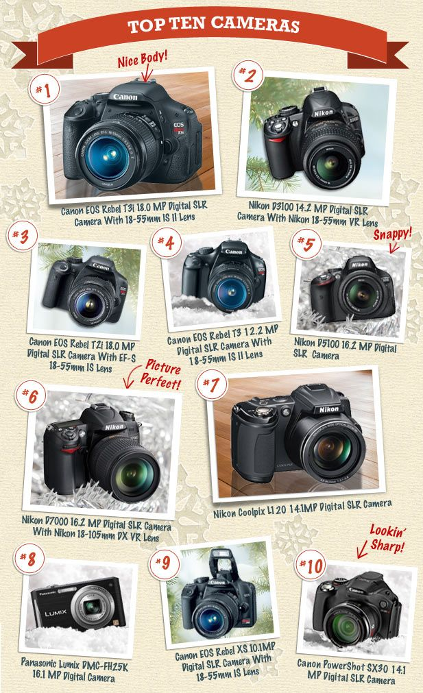 Online Marketing Trends: 2012 Most Sold Top 10 Cameras: