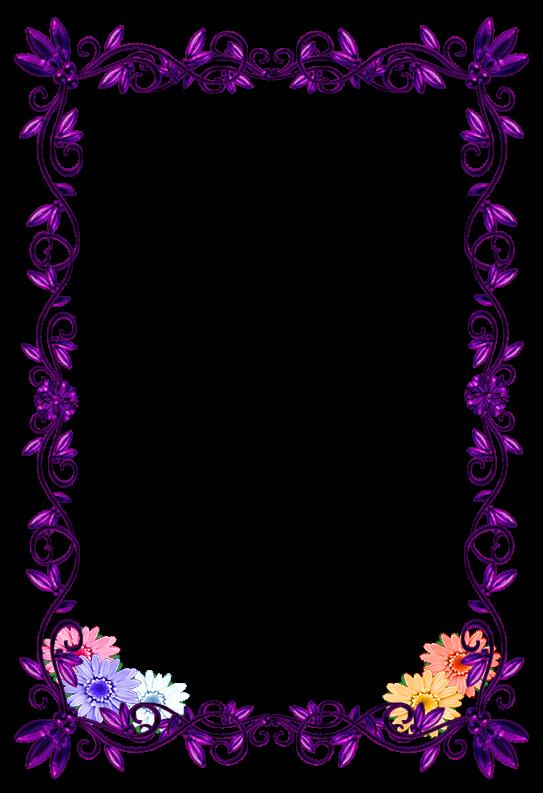 Borde completo morado super bordes y marcos pinterest for Imagenes bonitas para decorar