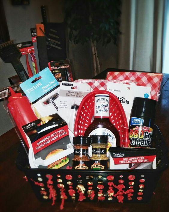 32 Homemade Gift Basket Ideas For Men Gift Baskets For