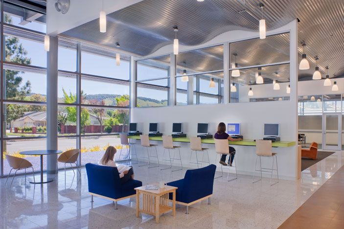 Cool cafeteria design google search thesis pinterest for Internet cafe interior designs