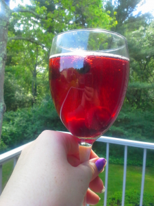 Berry Relaxing Cocktail, SimplyEarthyCrunchy.com