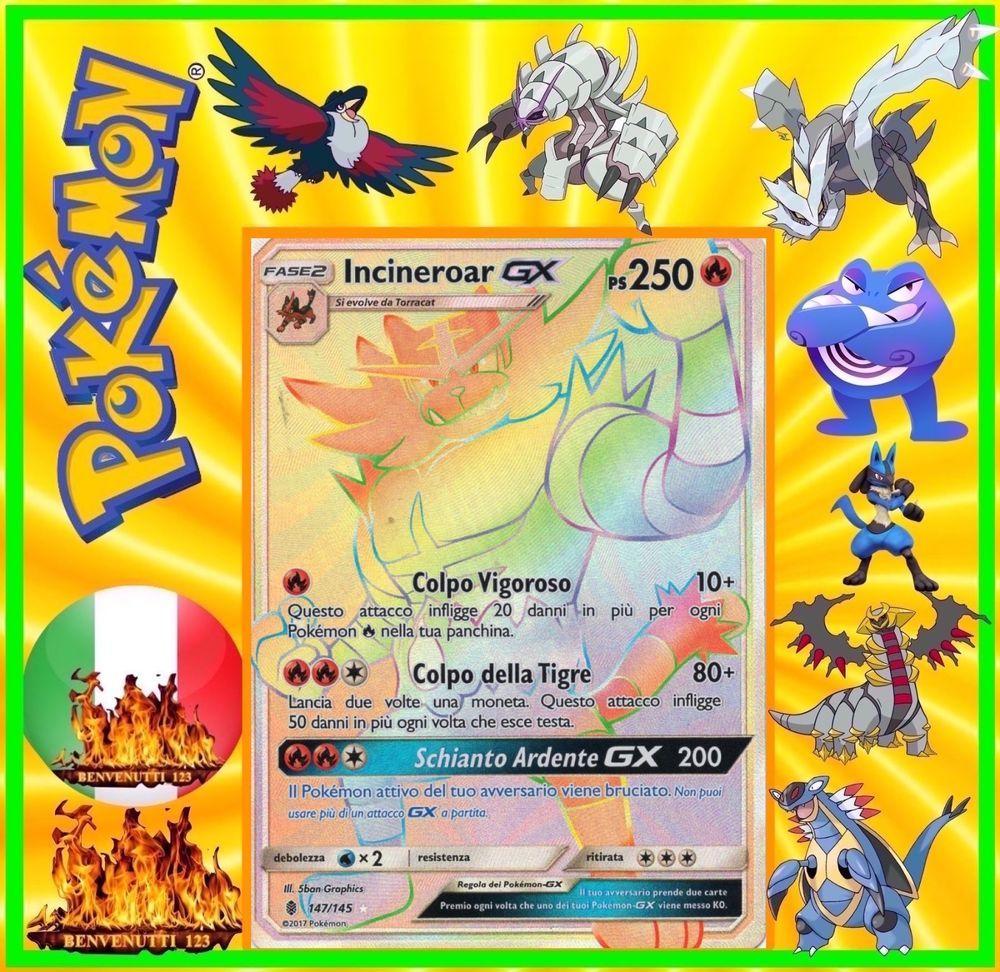 Pokemon incineroar gx yveltal ex silvally gx snorlax - Carte pokemon ex et gx ...