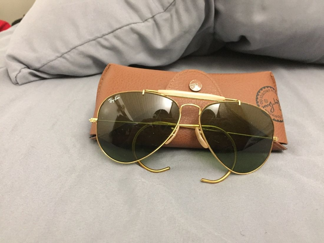 cf4856b219015 Ray Ban 1960 S Vintage Ray Ban s Size One Size  325 - Grailed ...