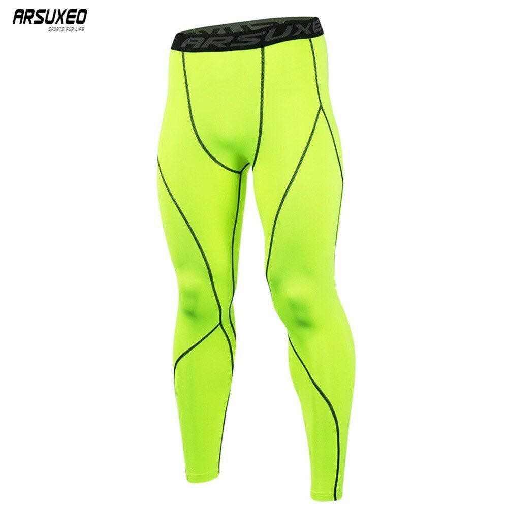 Men Sports Compression Under Base Layer Fitness Gym Swimwear Tight Shorts M//L-XL