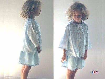 patron de couture t l charger et son cours de couture en vid o veste pour enfant downloadable. Black Bedroom Furniture Sets. Home Design Ideas