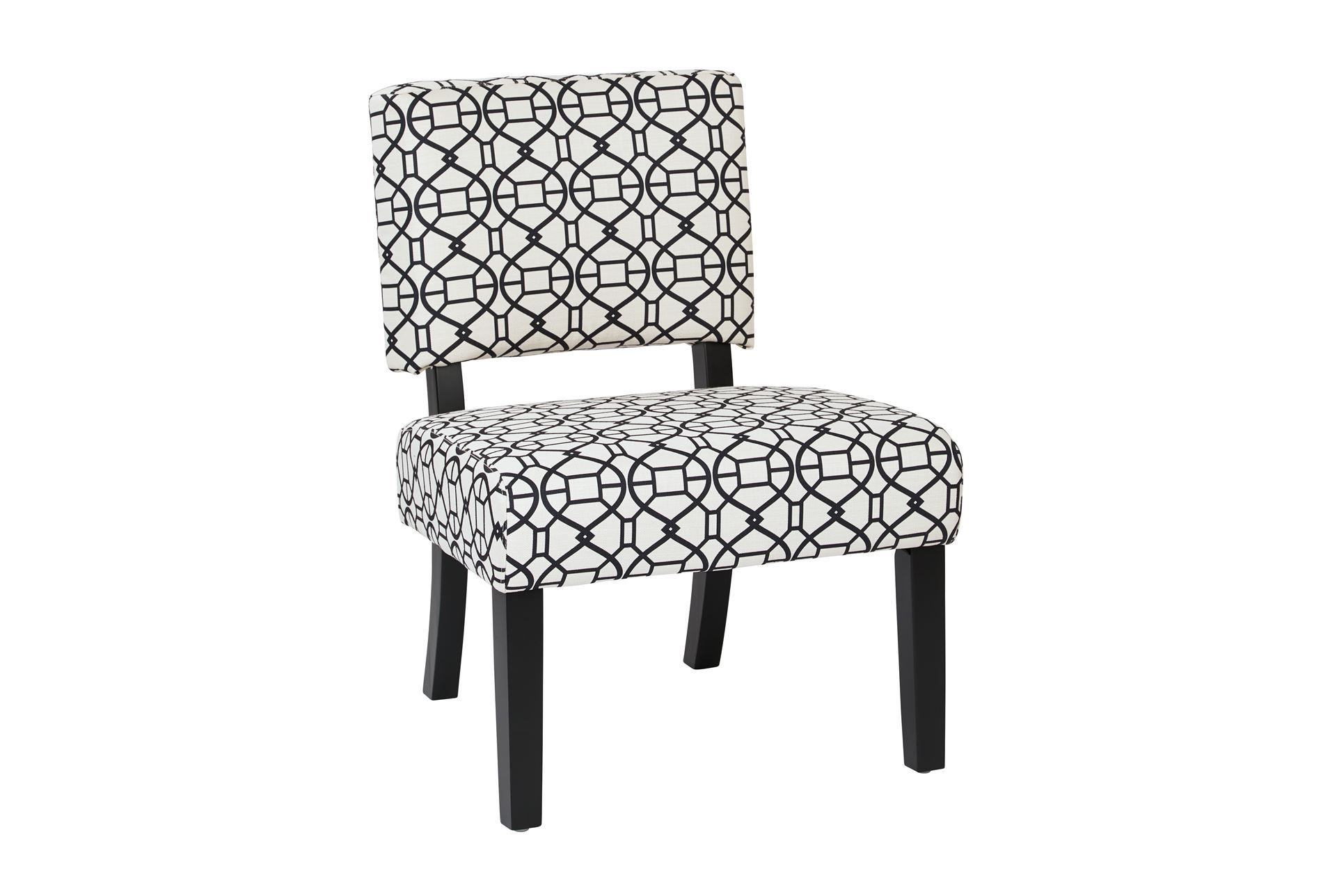 Best Thea Windsor Black And White Accent Chair Chair 400 x 300