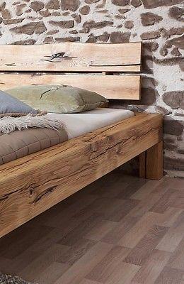 Bild 4 Von 5 Bett Rustikal Holz Bett Massivholz Selbstgemachte Bettrahmen