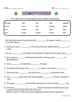 5th grade homographs worksheets for 5th grade printable worksheets guide for children and. Black Bedroom Furniture Sets. Home Design Ideas