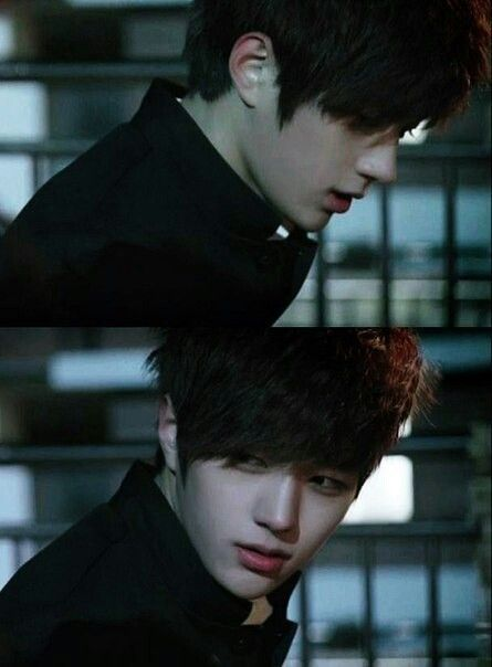 MyungSoo L, it looks like its from shut up flower boy band