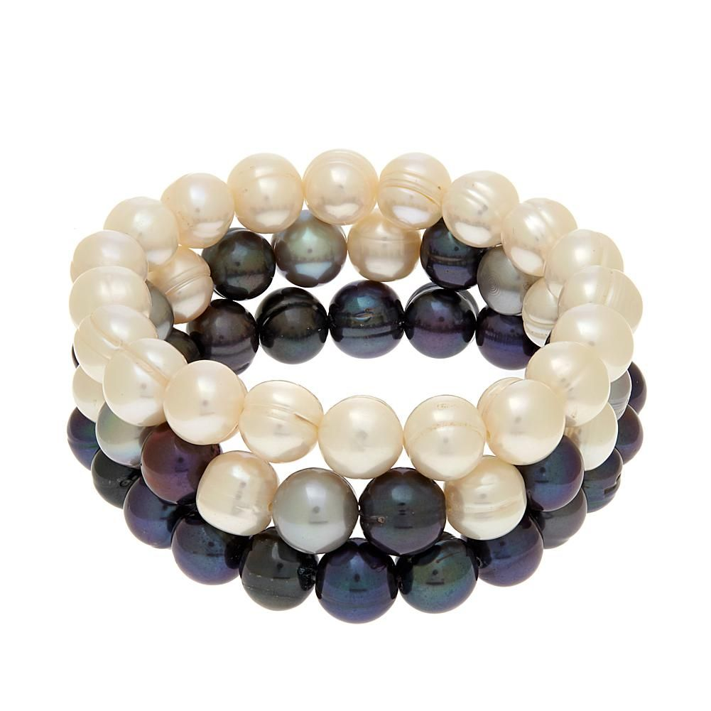 Imperial Pearls By Josh Bazar Imperial Pearls 95105mm Multicolor  Cultured Freshwater Pearl 3