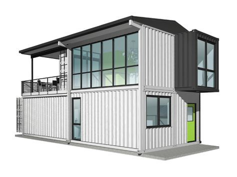 Foxworth Architecture Single Family Container House