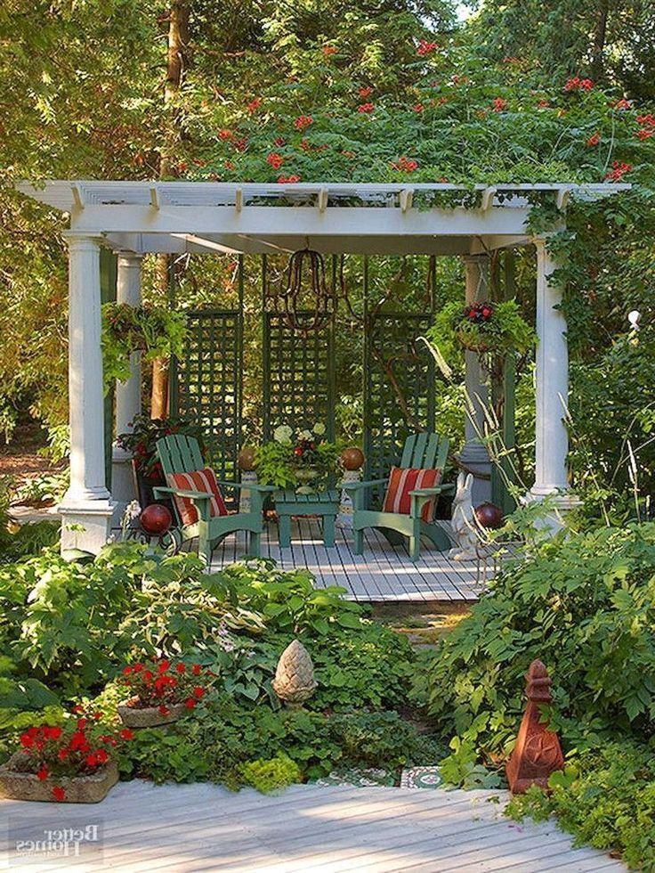 67+ Nice Gazebo Backyard Garden Landscaping Design Ideas #gazebo #backyardgarden #gardenlandscaping #Gazebo #Backyard