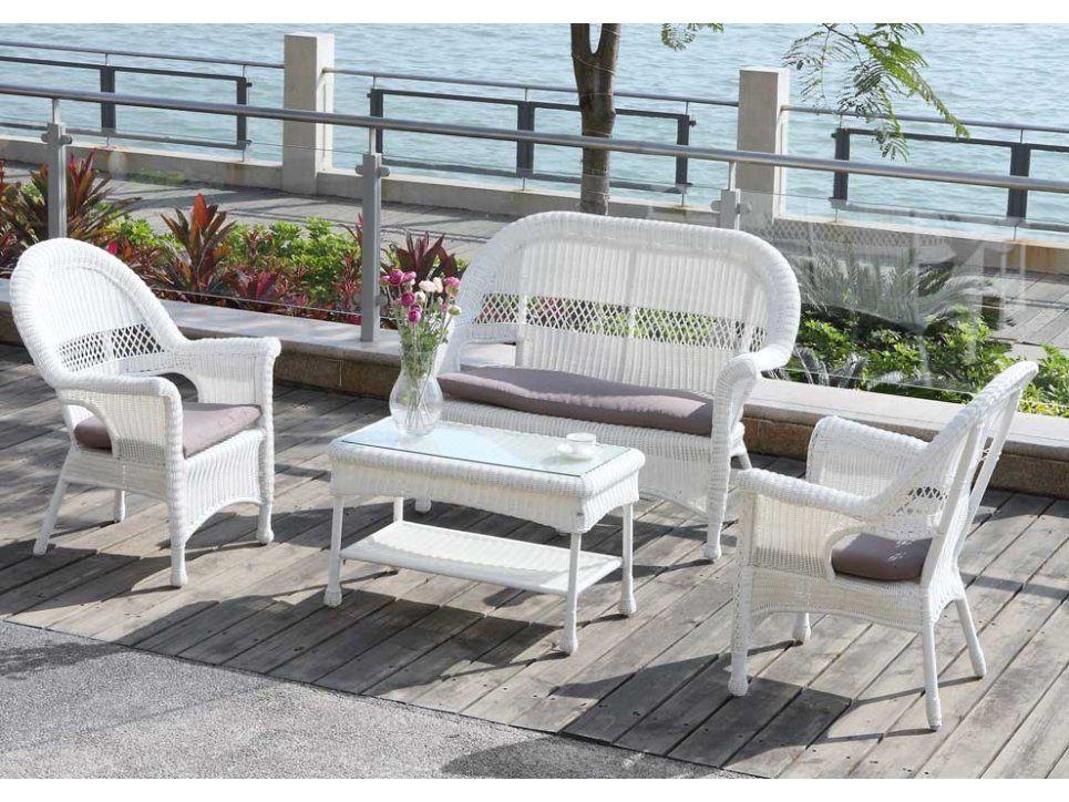 Gartenmöbel aus Polyrattan   Outdoor furniture sets ...