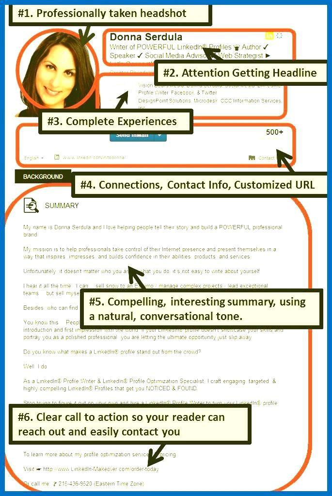 linkedin resume template sample resumes on best resume