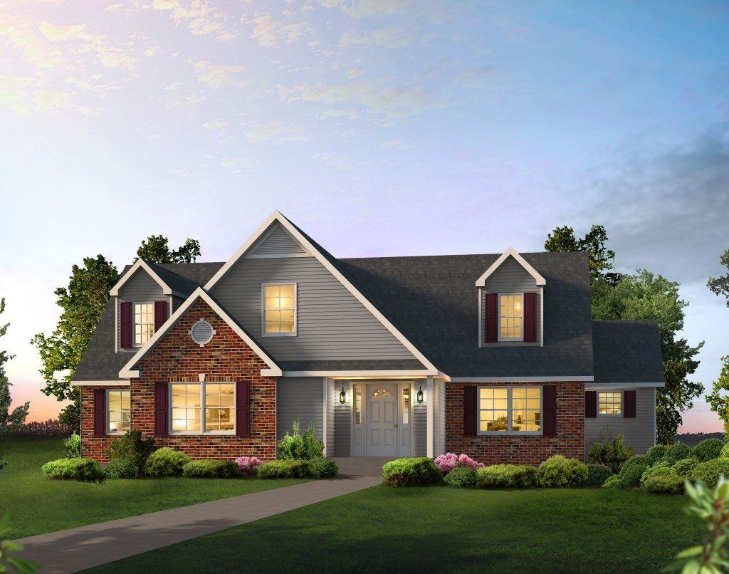 Manorwood Modular Homes Modular Cape Cod Home in PA ...