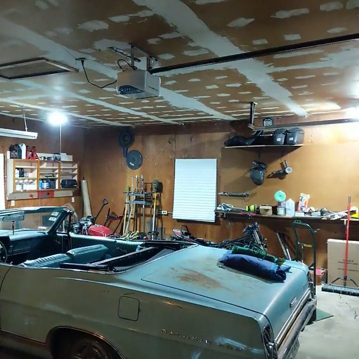 All I do is work on this place...#homeownership #garagegoals #garage #diy