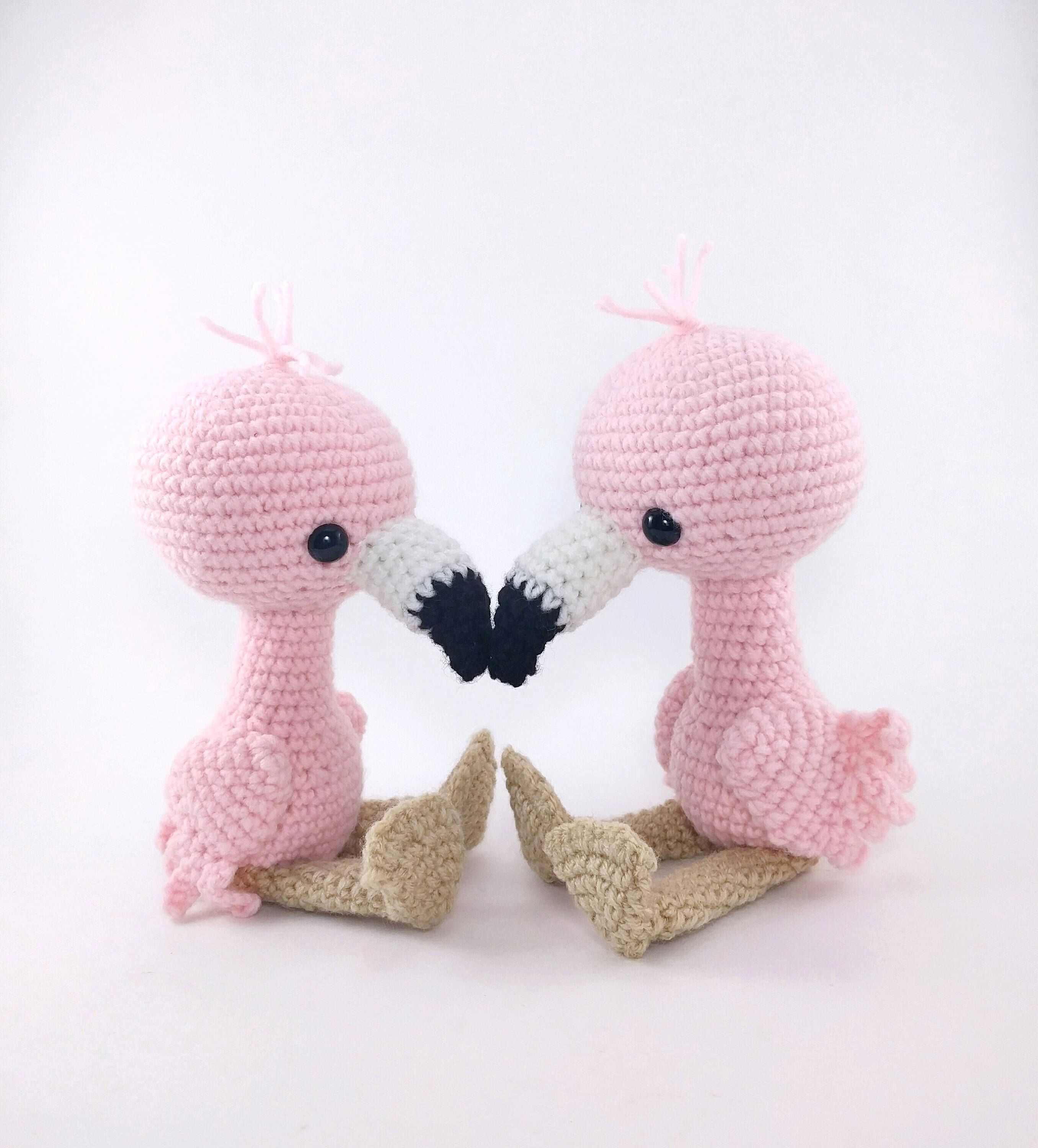 PATTERN: Flamingo Friends - Crochet flamingo pattern - amigurumi ...