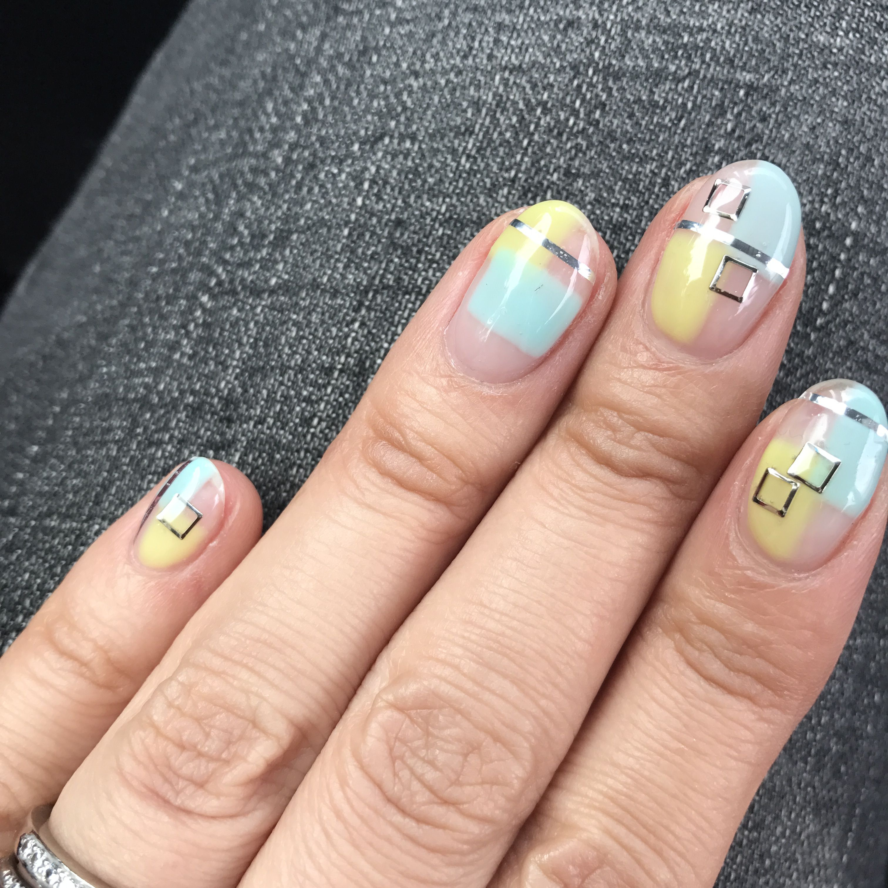 Ori is the best blue-grey! | Grey gel nails, Toe nail