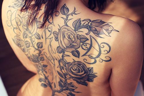 Tatuagens Femininas Grandes Fotos E Dicas Meninas