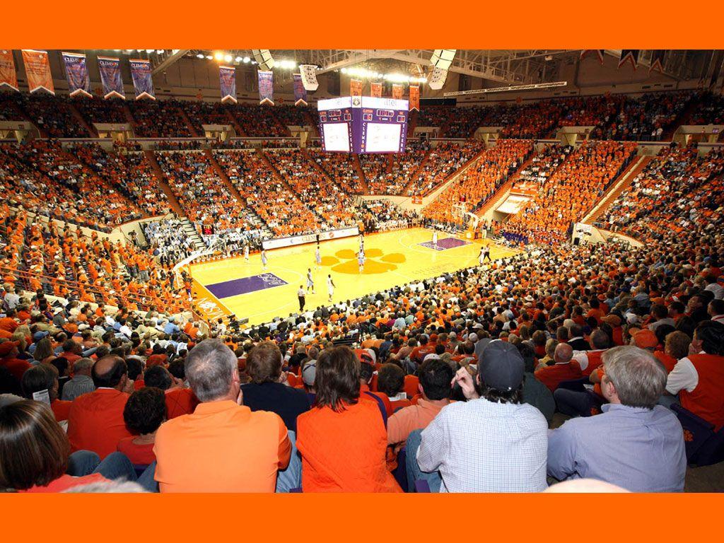 Littlejohn Coliseum Clemson Clemson Basketball Basketball Pictures
