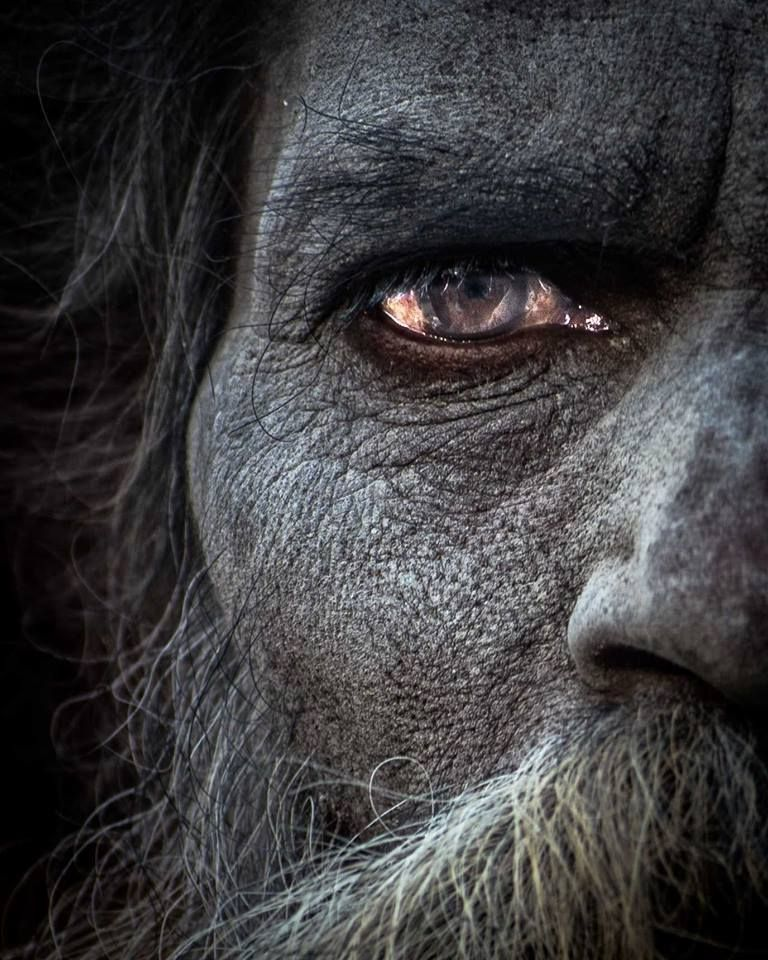 The exiled tribe of Aghori monks from Varanasi, India  They eat