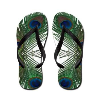Peacock Slippers Sandals Flip Flops