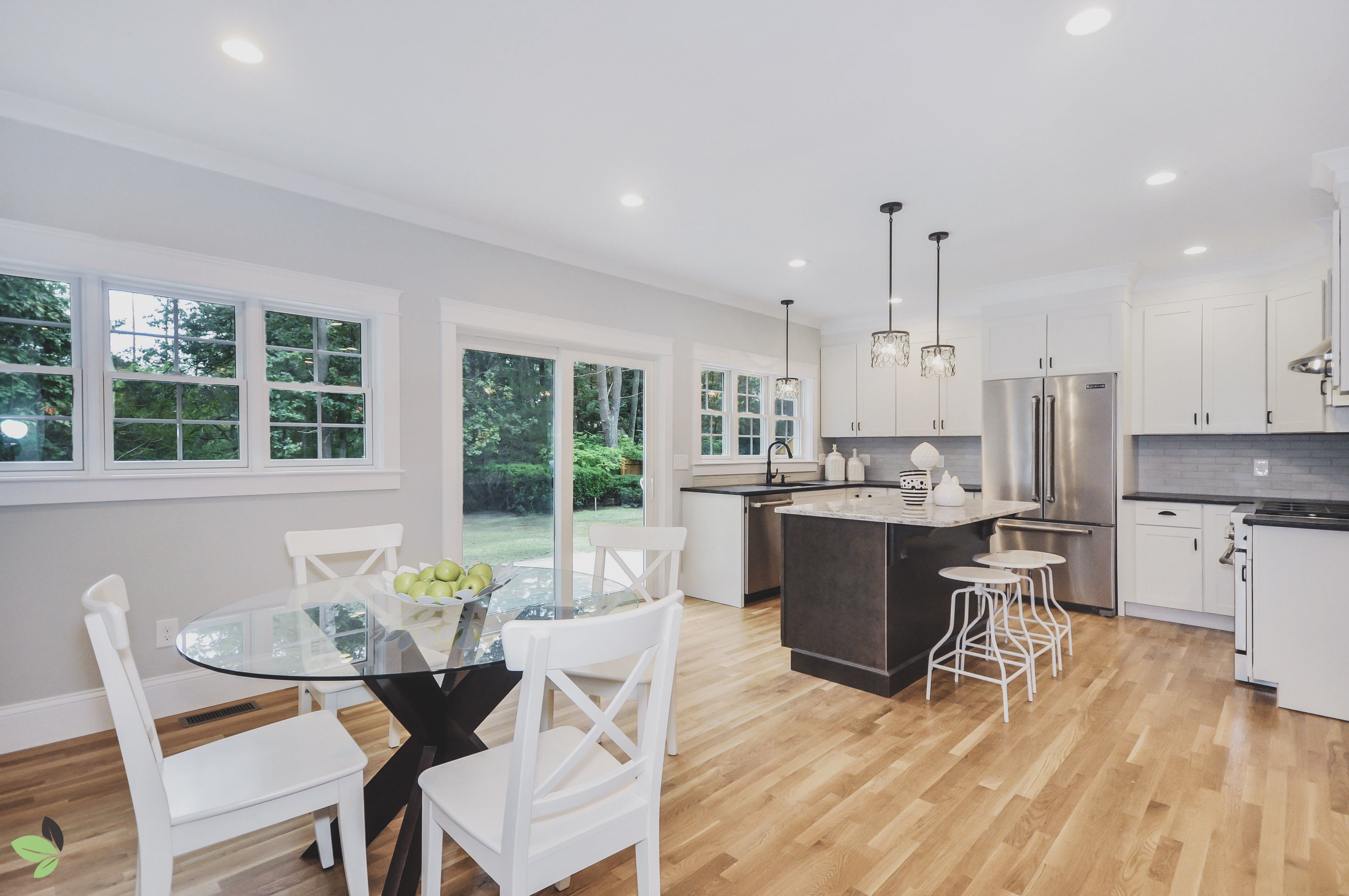 What are your thoughts on our bright and open eat-in kitchen at our ...