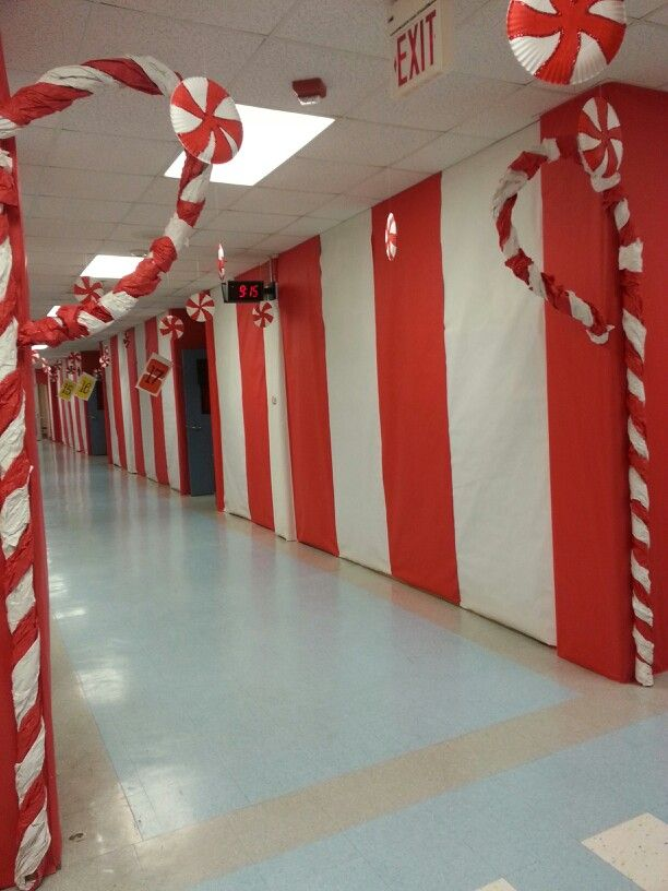 candy land peppermint forest christmas hallway christmas time candy land christmas xmas - Peppermint Forest Christmas Shop