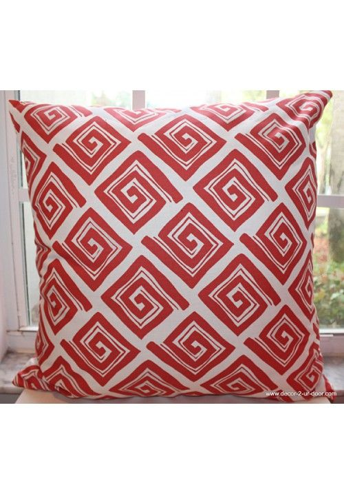 Coral Maze Dorm Decorative Throw Pillow Avail In All Sizes