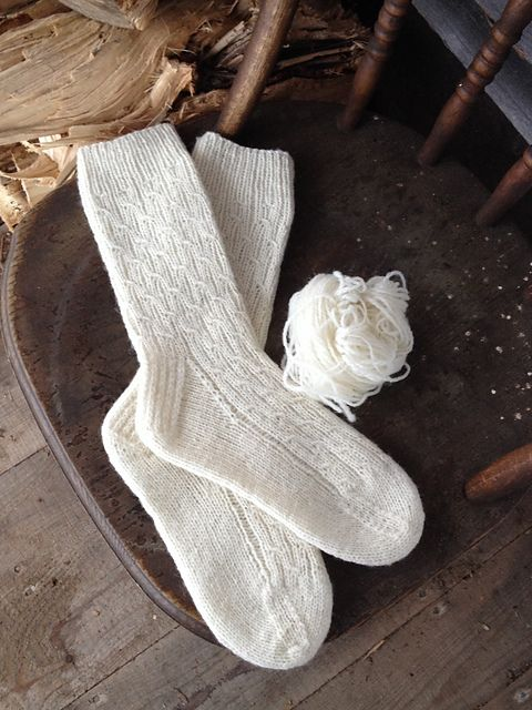 Sheep and Pickle Mock Cable Sock pattern by Sheep and Pickle Designs ...