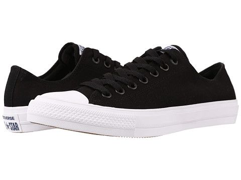 b823c4c8a97bec Converse Chuck Taylor® All Star II Ox Black White Navy - Zappos.com Free  Shipping BOTH Ways